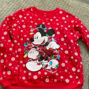 Light up Christmas Mickey Mouse sweater